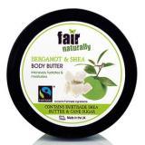 Tělové máslo NATURALLY FAIR s bambuckým máslem a bergamotem, 200 ml