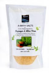 A-sůl, s Aloe Verou a Papájou, 400g